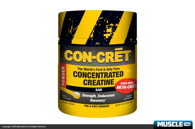 CON-CRET Concentrated Creatine - 48 Servings